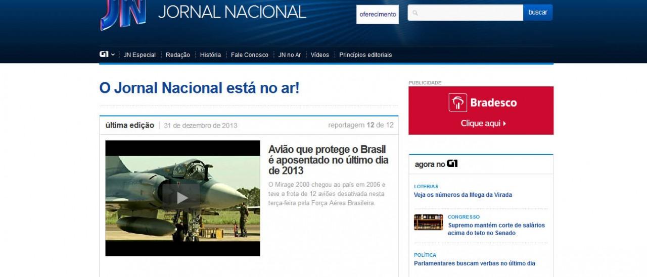 ultimo voo do Mirage 2000 - jornal nacional 2