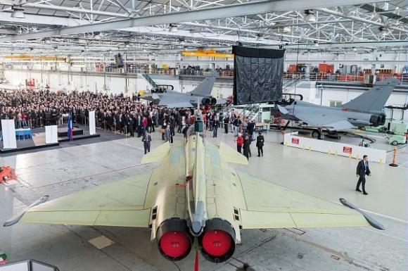 Lançamento Rafale F3R em Merignac - foto Dassault