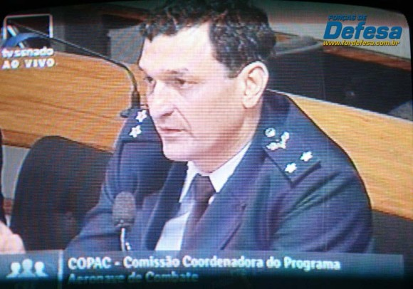 Crepaldi na CRE - captação da imagem da TV Senado - Forças de Defesa