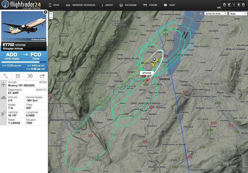 Ethiopian702-Flight-track