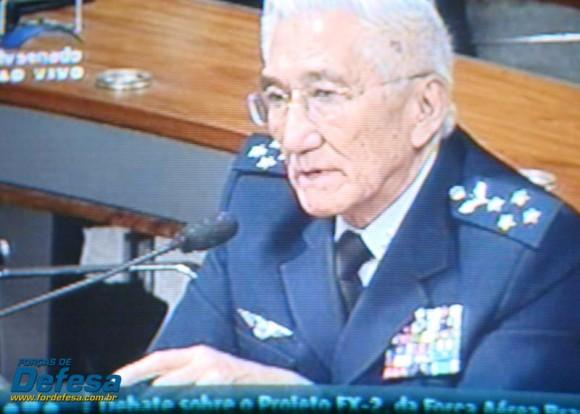Saito na CRE - captação 2 da imagem da TV Senado - Forças de Defesa