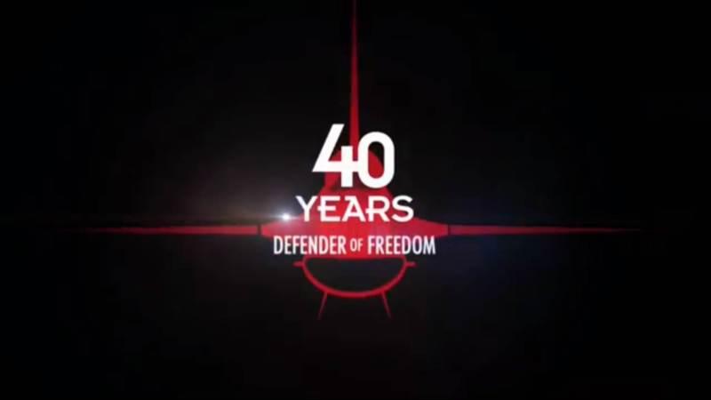 VIDEO - 40 anos de F-16