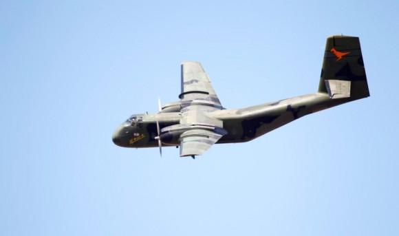 Caribou nos 100 anos aviação militar Austrália - foto Dept Def Australia