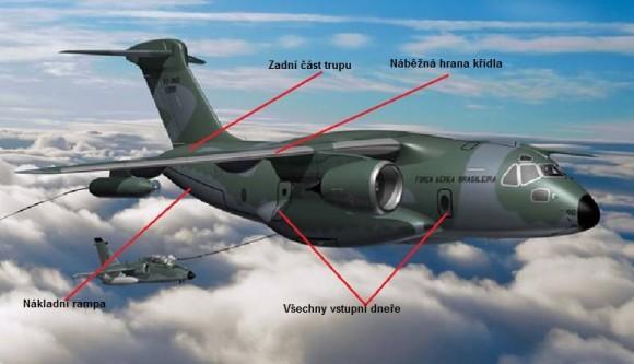 KC-390 - partes tchecas - imagem via Aero Vodochody