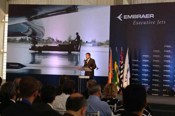 Marco Tulio Pellegrini, Presidente da Embraer Aviação Executiva