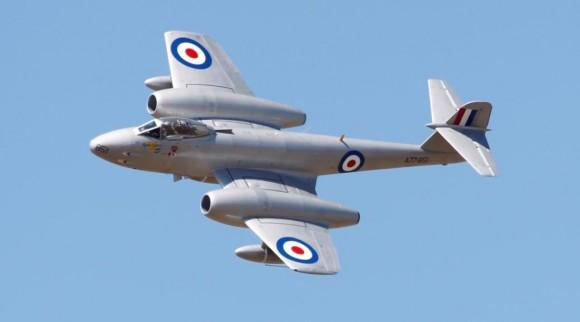 Meteor nos 100 anos aviação militar Austrália - foto Dept Def Australia