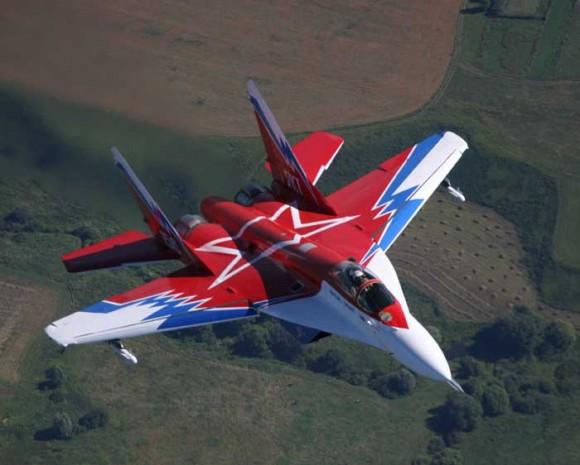 MiG-29 OVT - foto RAC MiG