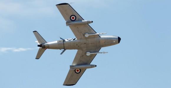 Sabre nos 100 anos aviação militar Austrália - foto Dept Def Australia