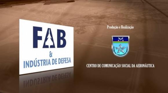 Vinheta FAB & Industria de Defesa - cena final de vídeo