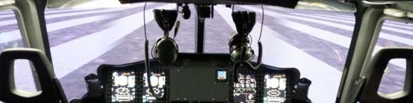 imagem release simulador nível D do EC175 - imagem Indra