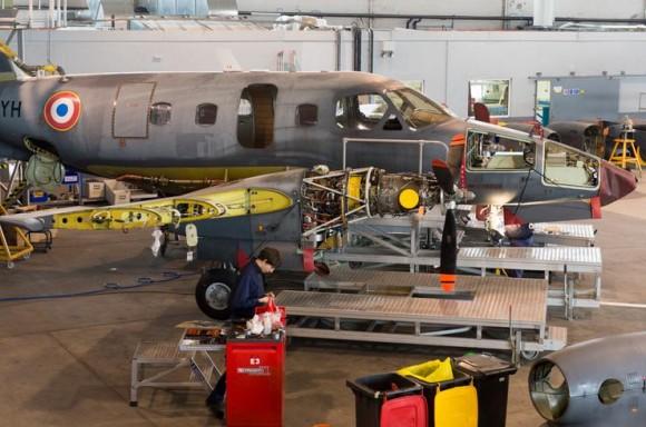 Embraer Xingu - foto 4 Força Aérea Francesa