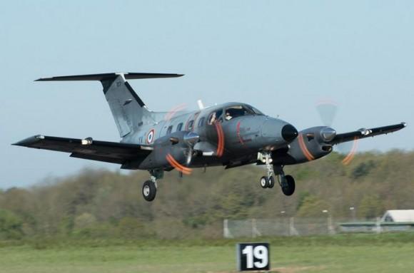 Embraer Xingu - foto Força Aérea Francesa