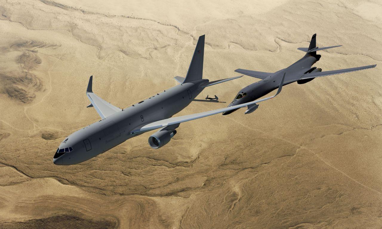 KC-46A_Refuels_B-1B_Concept_Boeing