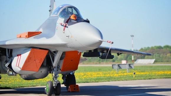 MiG-29 em Malbork na Polônia  - foto 2 Min Def Polônia