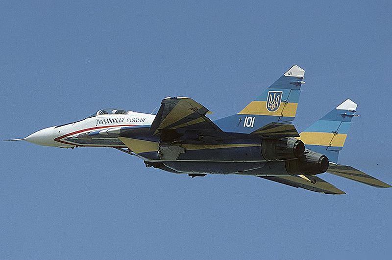 MiG-29A_Ukraine_-_Air_Force_foto Wiki