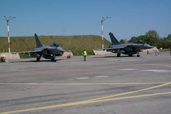 Rafale em Malbork na Polônia - foto 3 Min Def da Polônia