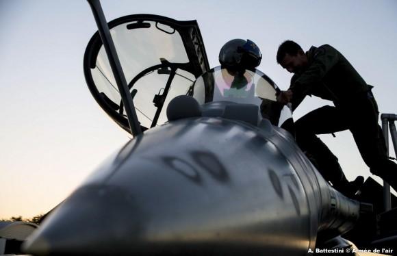 Rafale - missão da FAS em La Reunion - foto Força Aérea Francesa