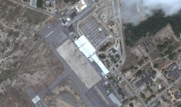 Aeroporto Augusto Severo RN - imagem Google maps