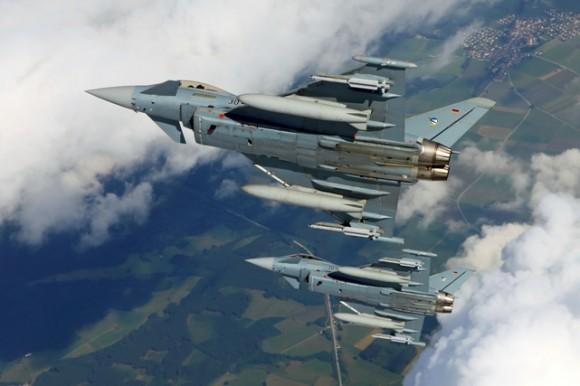 Eurofighter Typhoon - foto 2 Luftwaffe - Força Aérea Alemã