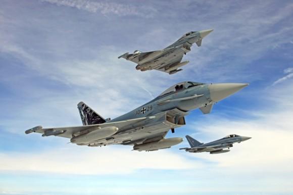 Eurofighter Typhoon - foto Luftwaffe - Força Aérea Alemã