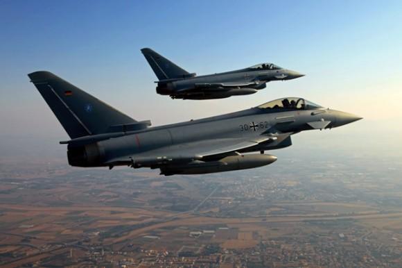 Eurofighter Typhoon - foto 3 Luftwaffe - Força Aérea Alemã