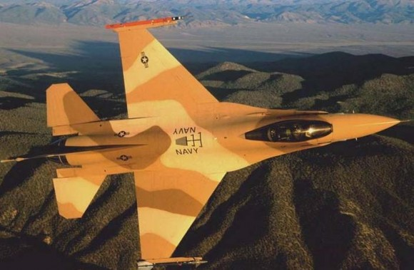 F-16 de adversary squadron na NAS Fallon - foto 2 USN