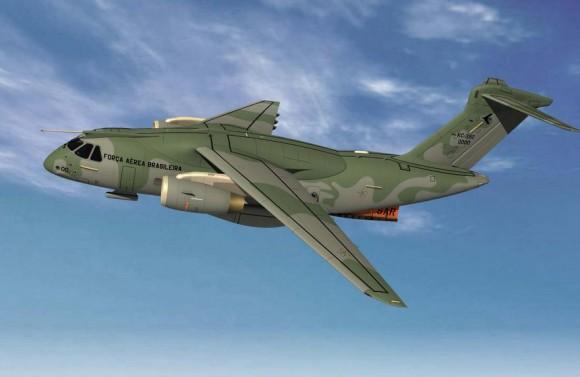 KC-390 config SAR - destaque imagem Embraer