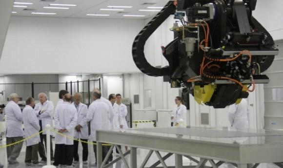 Laboratório de Estruturas Leves inaugurado no IPT - foto A Collet - O Vale