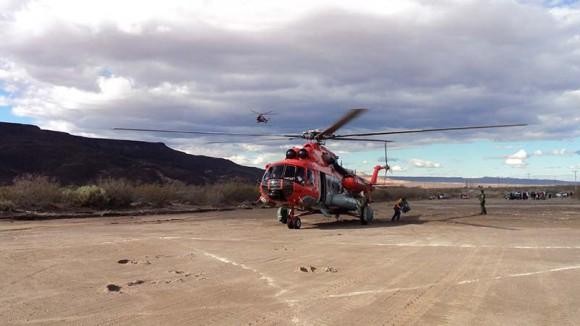 MI-17 argentino em ajuda humanitária - foto 2 Força Aérea Argentina