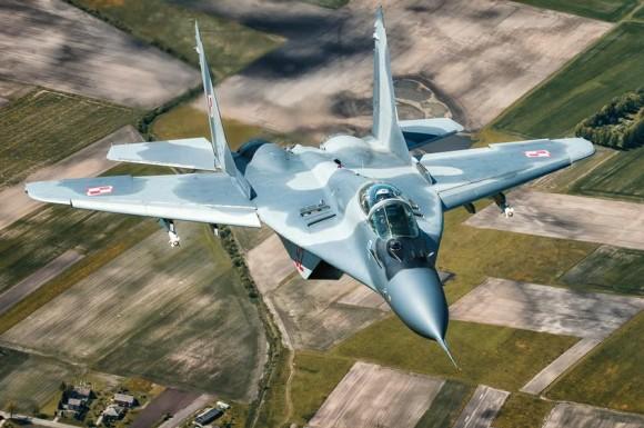 MiG-29 na Lituânia - foto 2 via MD Polônia
