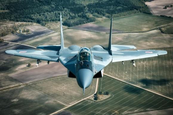 MiG-29 na Lituânia - foto 5 via MD Polônia