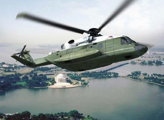 S-92A presidencial - concepção artística Sikorsky via Navair