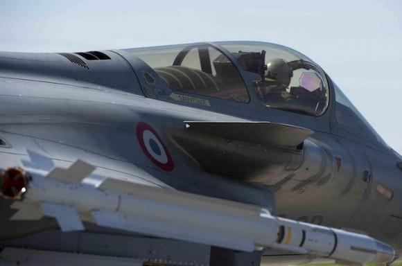 caça Rafale desdobrado na Polônia - foto Força Aérea Francesa
