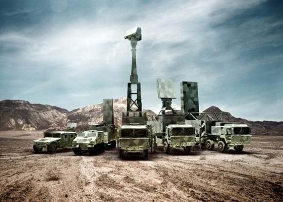novos radares família Giraffe e Arthur - foto Saab