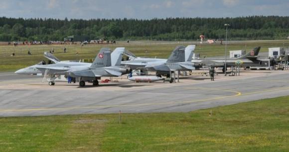 70 anos da ala F 17 - foto 2 Forças Armadas da Suécia