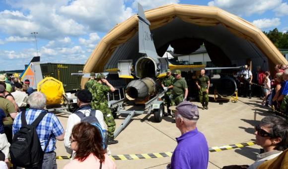 70 anos da ala F 17 - foto 2 via Gripen Blog