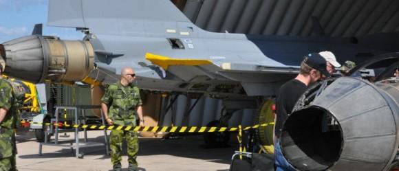 70 anos da ala F 17 - foto 3 Forças Armadas da Suécia