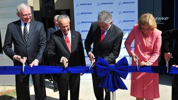 Boeing inaugura Centro Tecnológico em S José dos Campos - SP - foto C Capucho - PMSJC