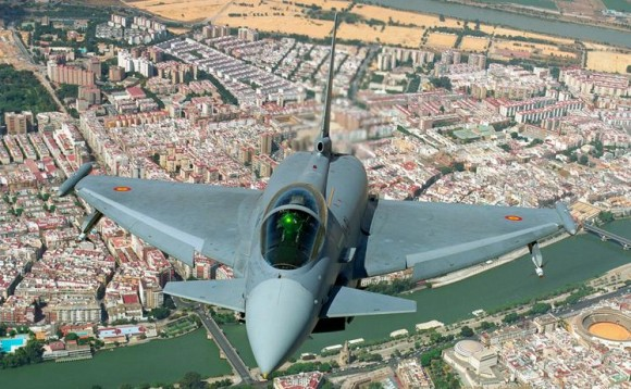 Eurofighter Typhoon - foto Força Aérea Espanhola - Ejercito del Aire