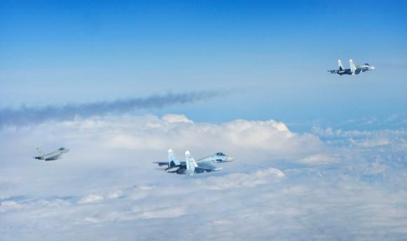 Eurofighter versus Sukhoi sobre o Báltico - 3