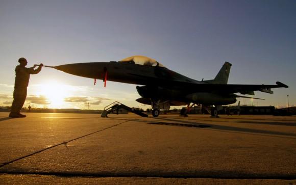 F-16 da USAF - foto via Code One Magazine