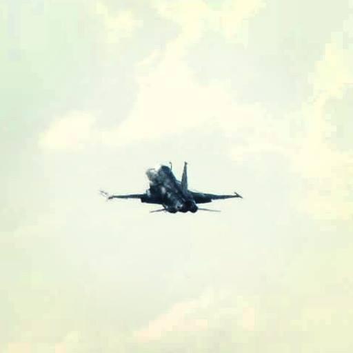 F-5EM armado com míssil Python IV cuidando da Defesa Aérea da Copa, em Curitiba-PR