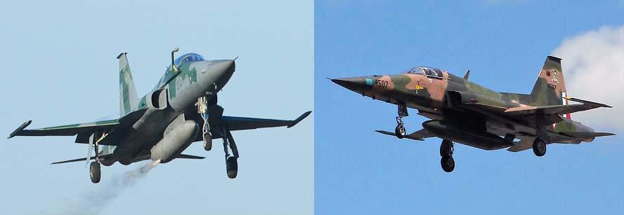 F-5M Brasil e F-5 Mexico