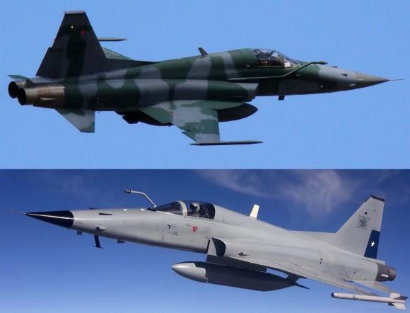 F-5M Brasil x F-5 Tiger III Chile