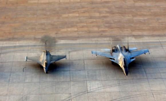 Garuda V - Rafale e Su-30MKI - foto via Economic Times