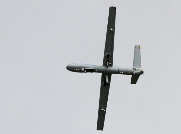 Hermes 900 - foto 2 via Força Aérea Suíça