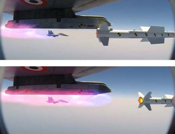 Teste Míssil Astra em Su-30MKI - fotos DRDO