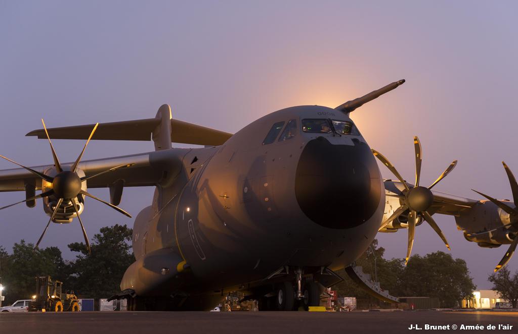 A400M - foto Força Aérea Francesa
