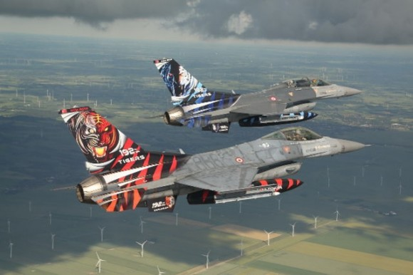 F-16 - Tiger Meet 2014 - foto Luftwaffe