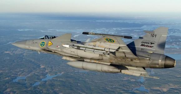 Gripen Meteor - foto Saab